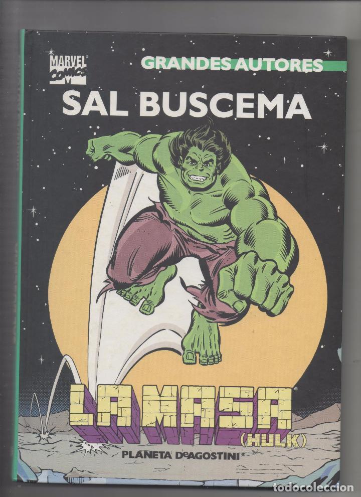 GRANDES AUTORES: SAL BUSCEMA - LA MASA .SA (Tebeos y Comics - Forum - Prestiges y Tomos)