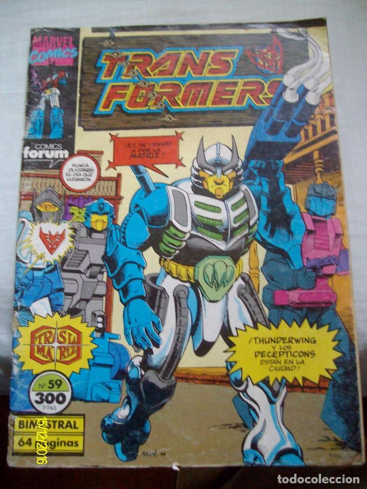 TRANS FORMERS Nº 59 FORUM TRANSFORMERS (Tebeos y Comics - Forum - Otros Forum)