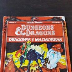 Dragones y Mazmorras - El Valle de los Unicornios (número 2, años 80)