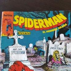 Comics : SPIDERMAN EN INFERNO - LA NOCHE DEL NED VIVIENTE (N'214, AÑOS 80) FORUM. Lote 69588515
