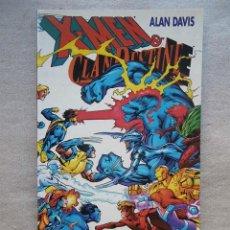 Cómics: X-MEN & CLANDESTINE / FORUM PLANETA 1997. Lote 69789621