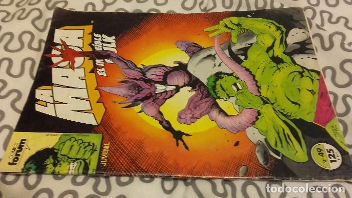 LA MASA VOL 1 FORUM Nº 49 - HULK - ÚLTIMO NÚMERO (Tebeos y Comics - Forum - Otros Forum)