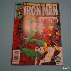 Cómics: COMIC DE RON MAN EL HOMBRE DE HIERRO AÑO 1988 Nº 38 DE COMICS FORUM LOTE 7. Lote 69843309