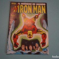 Cómics: COMIC DE IRON MAN EL HOMBRE DE HIERRO AÑO 1987 Nº 35 DE COMICS FORUM LOTE 7. Lote 69843417
