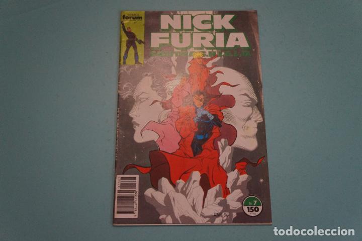 COMIC DE NICK FURIA CONTRA SHIELD AÑO 1989 Nº 7 DE COMICS FORUM LOTE 13 A (Tebeos y Comics - Forum - Furia)