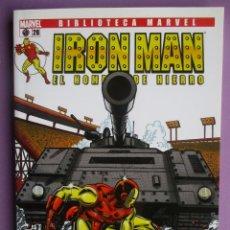 Cómics: BIBLIOTECA MARVEL IRON MAN Nº 28¡¡¡¡EXCELENTE ESTADO COMO NUEVO!!!!. Lote 69944093