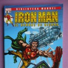 Cómics: BIBLIOTECA MARVEL IRON MAN Nº 23¡¡¡¡EXCELENTE ESTADO COMO NUEVO!!!!. Lote 69944813