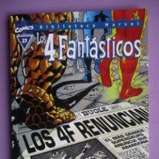 Cómics: BIBLIOTECA MARVEL LOS 4 FANTASTICOS Nº 27 ¡¡¡¡EXCELENTE ESTADO COMO NUEVO!!!!. Lote 69947997
