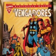 Cómics: BIBLIOTECA MARVEL LOS VENGADORES, TOMO 15, EDITORIAL PLANETA DE AGOSTINI, BLANCO Y NEGRO. Lote 69972641