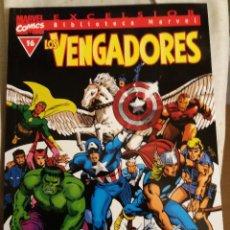 Cómics: BIBLIOTECA MARVEL LOS VENGADORES, TOMO 16, EDITORIAL PLANETA DE AGOSTINI, BLANCO Y NEGRO. Lote 69972709