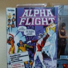 Cómics: ALPHA FLIGHT - VOL 1 - NÚMERO RETAPADO - MARVEL CÓMICS - FORUM. Lote 70005617