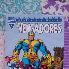 Cómics: BIBLIOTECA MARVEL VENGADORES 5 NUEVO. Lote 70084213