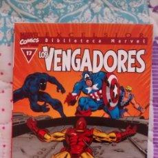 Cómics: BIBLIOTECA MARVEL VENGADORES 17 NUEVO. Lote 70084337