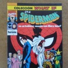 Cómics - WHAT IF Nº 29 SPIDERMAN - FORUM - COMO NUEVO - 70477045