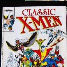 Cómics: COMIC CLASSIC-X-MEN--FORUM VOL DE 5 NUMEROS DEL 1 AL 5. Lote 70510901