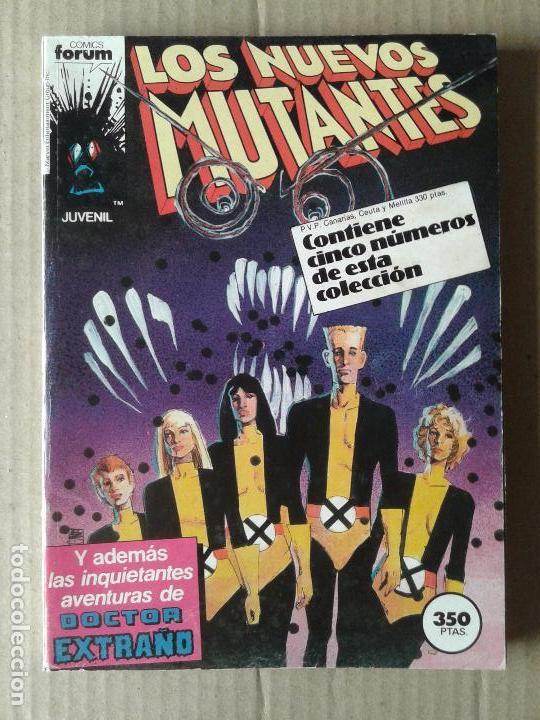 RETAPADO DE LOS NUEVOS MUTANTES CON LOS NÚMEROS 21 AL 25. POR CHRIS CLAREMONT Y BILL SIENKIEWICZ. (Tebeos y Comics - Forum - Nuevos Mutantes)