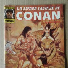 Cómics: LA ESPADA SALVAJE DE CONAN Nº135. SERIE ORO / CÓMICS FORUM (1993). POR ROY THOMAS Y JOHN BUSCEMA. Lote 70577681