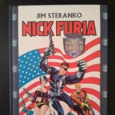 Cómics: TOMO TAPA DURA NICK FURIA AGENTE DE SHIELD. JIM STERANKO. NUEVO SIN LEER.FORUM. Lote 70980361