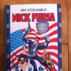 Cómics: NICK FURIA, AGENTE DE SHIELD POR JIM STERANKO, JACK KIRBY,... 252 PAGS. TAPA DURA FORUM. Lote 71132273