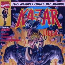 Cómics: KA-ZAR Nº5. FORUM, 1997 . Lote 71196581