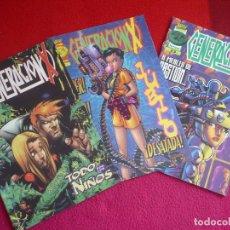 Cómics: GENERACION X VOL. 2 NºS 21, 22 Y 23 ( LOBDELL CHRIS BACHALO ) ¡BUEN ESTADO! FORUM MARVEL . Lote 71261083