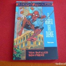Cómics: ARCHIVOS SPIDERMAN EL REGRESO DEL DUENDE ( PETER DAVID DEFALCO FRENZ) ¡COMO NUEVO! FORUM MARVEL 1997. Lote 71545591