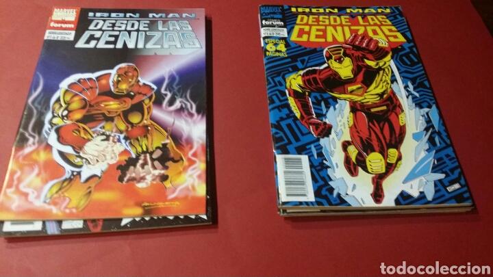 IRON MAN DESDE LAS CENIZAS COMPLETA SERIE LIMITADA EXCELENTE ESTADO FORUM (Tebeos y Comics - Forum - Iron Man)