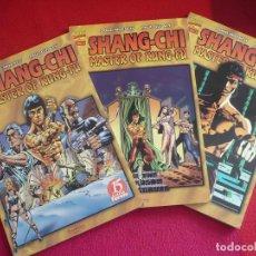 Cómics: SHANG-CHI MASTER OF KUNG FU NºS 1 AL 3 ( DOUG MOENCH Y PAUL GULACY) ¡COMPLETA! ¡COMO NUEVOS! MARVEL. Lote 71799619
