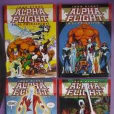 Cómics: ALPHA FLIGHT COMPLETA, JOHN BYRNE, 4 TOMOS FORUM¡¡¡¡MUY BUEN ESTADO!!!. Lote 71842155