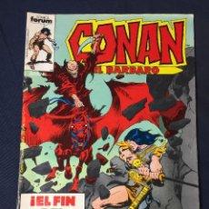 Cómics: CONAN EL BARBARO Nº 107. EL FIN DEL MUNDO. FORUM 1987. RED SONJA. Lote 72026607