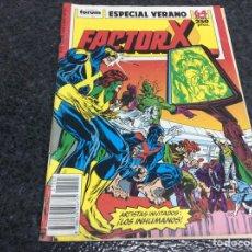 Cómics: FACTOR X ESPECIAL VERANO 1989 ( FORUM ). Lote 72132211