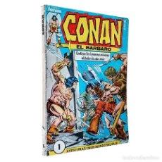 Cómics: CONAN EL BARBARO / RETAPADO 1 NºS 1 A 5 / FORUM 1983 (ROY THOMAS & JOHN BUSCEMA). Lote 72206543