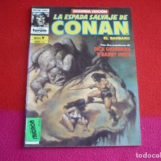 Cómics: LA ESPADA SALVAJE DE CONAN 2ª EDICION Nº 9 ( ROY THOMAS GIORDIANO BARRY SMITH ) MARVEL FORUM. Lote 72607915
