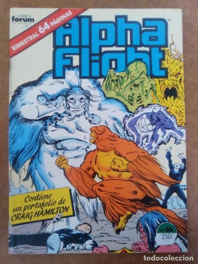 ALPHA FLIGHT VOL. 1 Nº 36 - FORUM - COMO NUEVO (Tebeos y Comics - Forum - Alpha Flight)