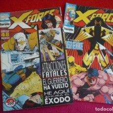 Cómics: X FORCE VOL. 1 NºS 25 Y 26 ( FABIAN NICIEZA CAPULLO BROOME ) ¡BUEN ESTADO! MARVEL FORUM 1994. Lote 72849339