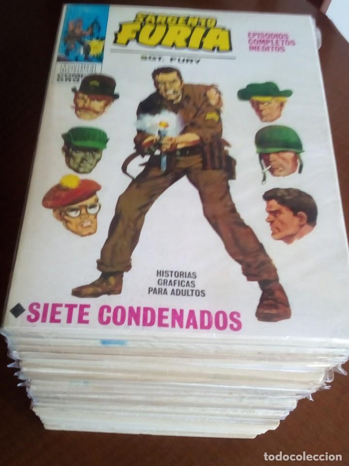SARGENTO FURIA COLECCION COMPLETA VER FOTOS¡¡¡¡¡¡ (Tebeos y Comics - Forum - Furia)