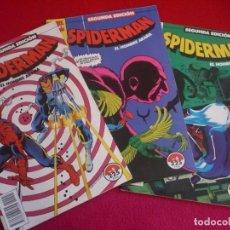 Cómics: SPIDERMAN SEGUNDA EDICION NºS 5, 6 Y 7 ( WOLFMAN POLLARD STERN ROMITA ) ¡BUEN ESTADO! MARVEL FORUM. Lote 72867719