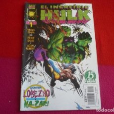 Cómics: HULK VOL. 3 Nº 1 ( PETER DAVID ADAM KUBERT ) ¡BUEN ESTADO! LOBEZNO KAZAR MARVEL FORUM 1998. Lote 72893475