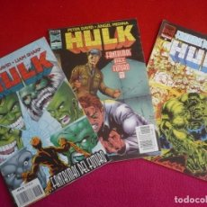 Cómics: HULK VOL. 2 NºS 7, 8 Y 9 ( PETER DAVID SHARP ) FANTASMAS DEL FUTURO ¡BUEN ESTADO! MARVEL FORUM 1996. Lote 72894371