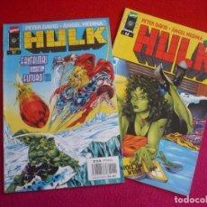 Cómics: HULK VOL. 2 NºS 11 Y 12 ( PETER DAVID ANGEL MEDINA ) ¡BUEN ESTADO! MARVEL FORUM 1997. Lote 72894511