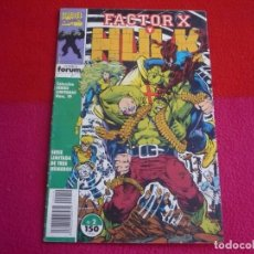 Cómics: FACTOR X Y HULK Nº 2 ( PETER DAVID KEOWN ) MARVEL FORUM SERIES LIMITADAS. Lote 72897159