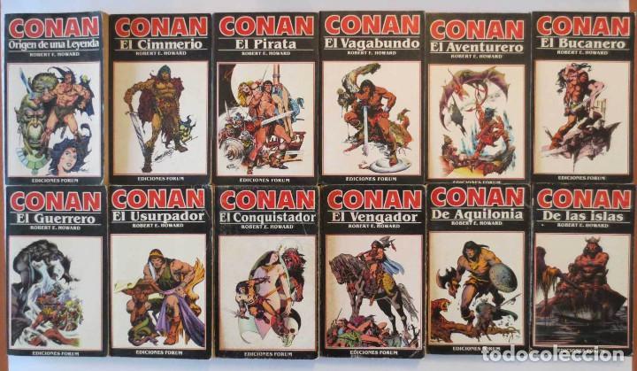 CONAN NOVELAS FORUM COMPLETA (Tebeos y Comics - Forum - Conan)
