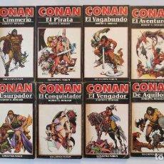Cómics: CONAN NOVELAS FORUM COMPLETA. Lote 72910047