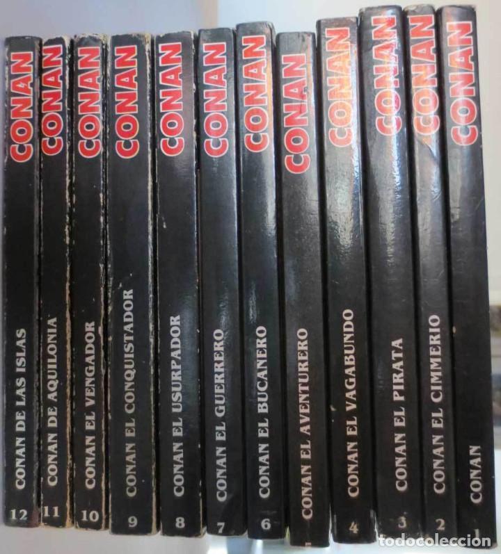 Cómics: CONAN NOVELAS FORUM COMPLETA - Foto 2 - 72910047