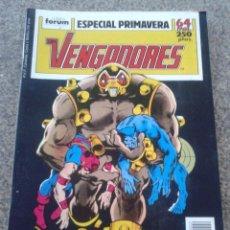 Cómics: LOS VENGADORES / ESPECIAL PRIMAVERA -- FORUM --. Lote 72949323