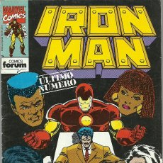 Cómics: IRON MAN Nº 15 ULTIMO NUMERO MARVEL FORUM . Lote 73419055