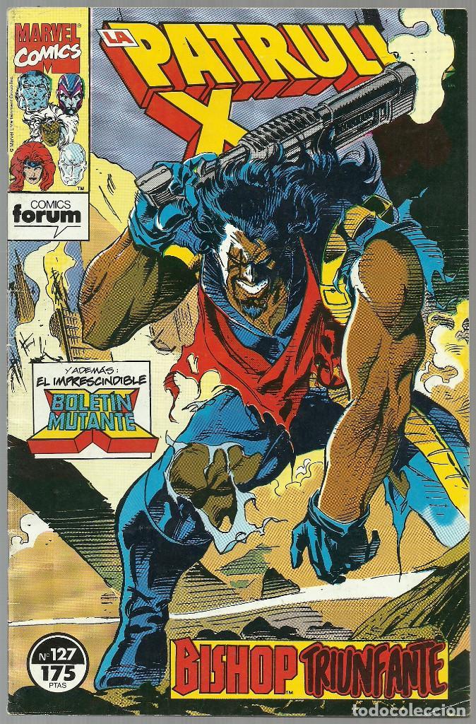 LA PATRULLA X Nº 127 - MARVEL FORUM (Tebeos y Comics - Forum - Patrulla X)