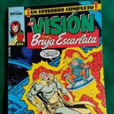 Cómics: LA VISION Y LA BRUJA ESCARLATA Nº 8 - EPISODIO COMPLETO - FORUM . Lote 73419623
