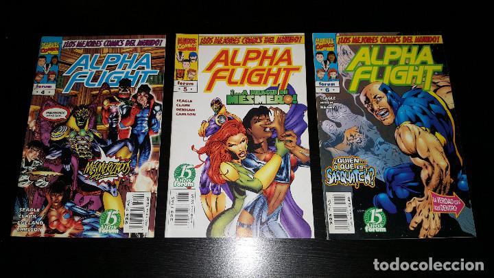 Cómics: Alpha Flight Vol. 2 completa 20 numeros - Foto 2 - 73427947