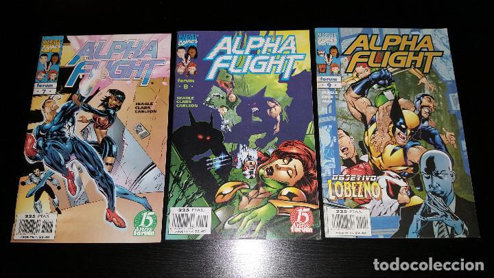 Cómics: Alpha Flight Vol. 2 completa 20 numeros - Foto 3 - 73427947